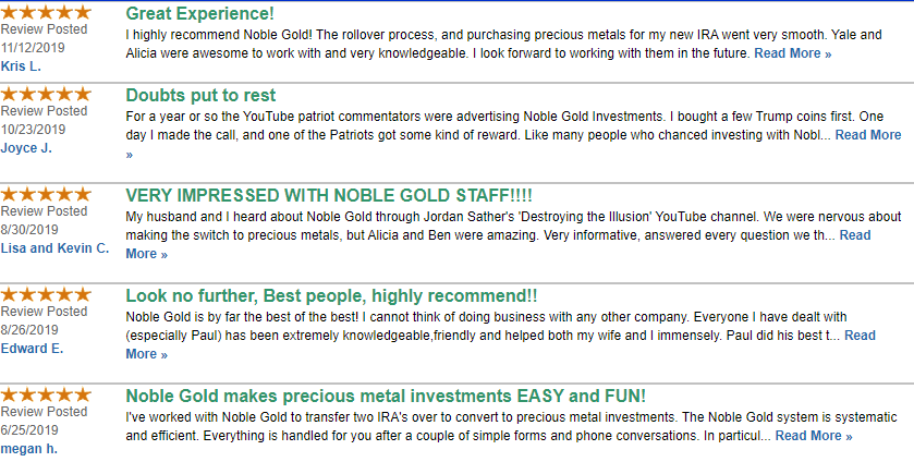 Noble Reviews